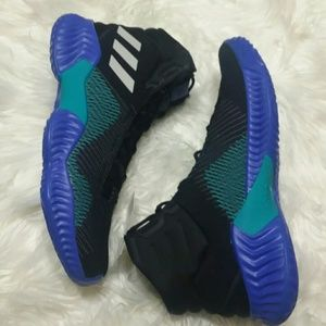 5a9e45ecf5743 adidas Shoes - NWT Adidas Pro Bounce Black Blue Sneakers
